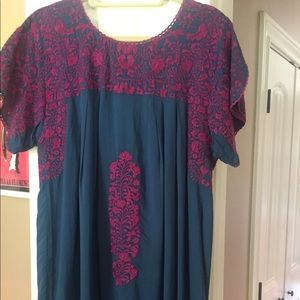 Women's Top Mexican fully lined Rayon Top